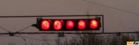 Startovací semafor